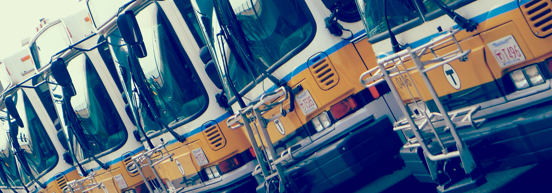 MBTA buses